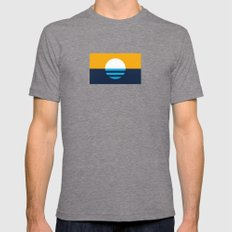 The People's Flag of Milwaukee Tri-Grey MEDIUM Mens Fitted Tee