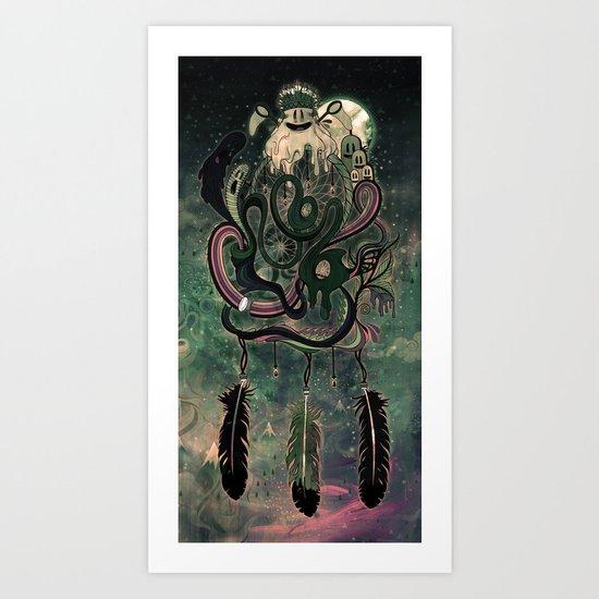 The Dream Catcher: Old Hag's Bane Art Print