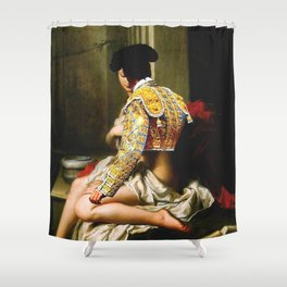 Courtly Love  Shower Curtain