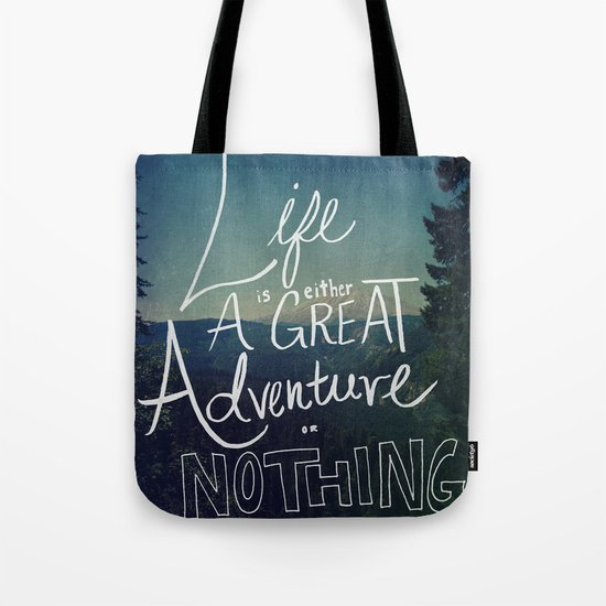 Great Adventure II Tote Bag