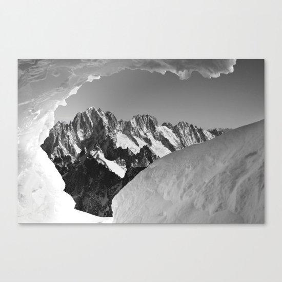 French Alps, Chamonix, France. (1) Canvas Print