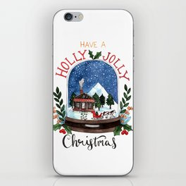 Holly Jolly Christmas iPhone Skin