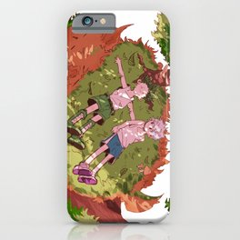 On Whale Island iPhone Case