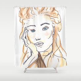 ERIKA Shower Curtain