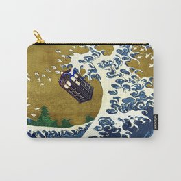 TARDIS GREAT WAVE Carry-All Pouch