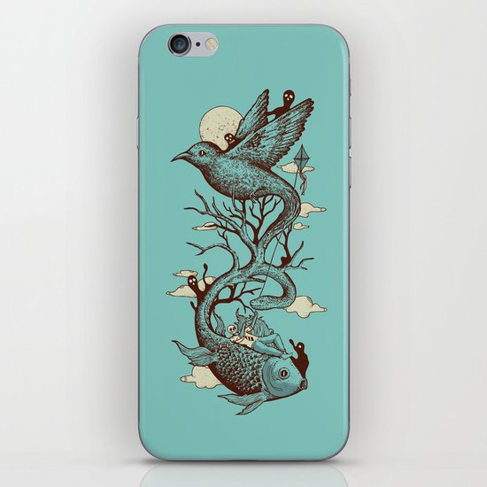 Escape from Reality iPhone & iPod Skin