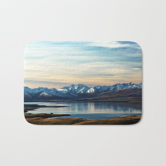 If Nobody Speaks // Landscape Mountains Photography Bath Mat
