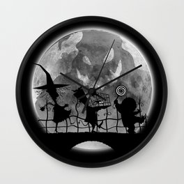 Bau bau Wall Clock