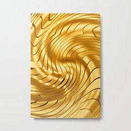 Goldie X Metal Print