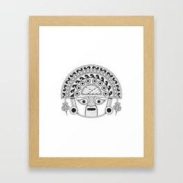 Naylamp Framed Art Print