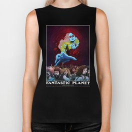 FANTASTIC PLANET  - THE HAND OF TERROR Biker Tank