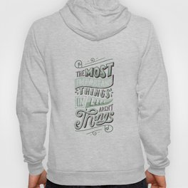 THE MOST IMPORTANT THINGS IN LIFE ARENT THINGS Hoody