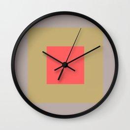 Minimalist Graphic Art Design Wall Clock