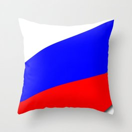 Team Russia #russia #football #worldcup #soccer #fan Throw Pillow