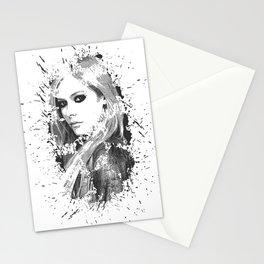 avril lavigne desain 003 Stationery Cards