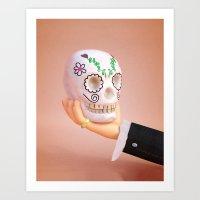 hamlet Art Prints featuring Hamlet by Ben Voldman