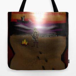 Beached warrior Tote Bag