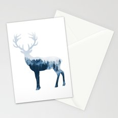 Deer in the Forest Stationery Cards