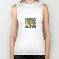 bamboo Biker Tanks featuring Bamboo by Linde Townsend