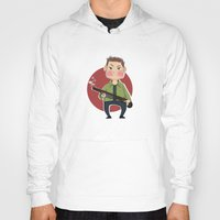 dean winchester Hoodies featuring Dean Winchester by RiruD