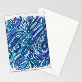 Rain in the Jungle Stationery Cards