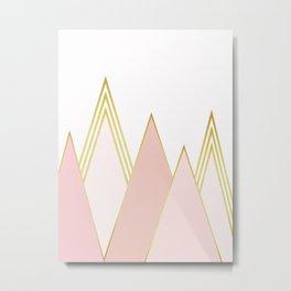 Minimalist Landscape VI Metal Print