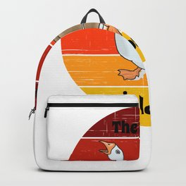 goose for people who like geese  Backpack