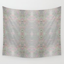 Silvery Dragonfly Wall Tapestry