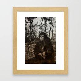 Hexen Tanz I Framed Art Print