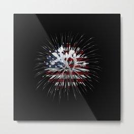 Joshua Tree Americana by CREYES Metal Print