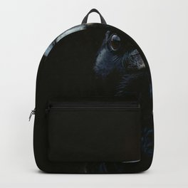 The Raven - Animal Bird photography by Ingrid Beddoes Backpack