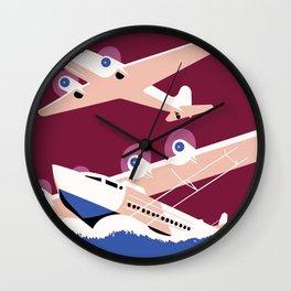 City of New York municipal airports Wall Clock