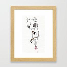 Stabbed Demon Framed Art Print
