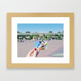 key to the kingdom Framed Art Print