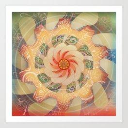 Manipura Art Print