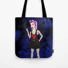 Hipster Hardcore Scene Alice Tote Bag