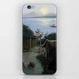 Norse Village iPhone Skin
