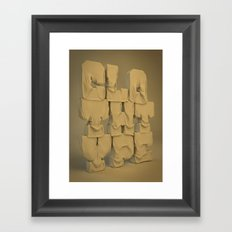Cloth type Framed Art Print