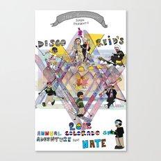 Disco & Reid's 2013 Annual CO ski adventure feat Nate Canvas Print
