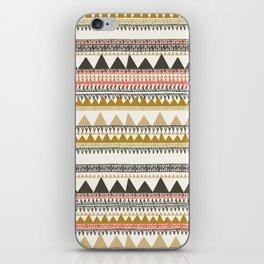 Mountain triangle pattern iPhone Skin