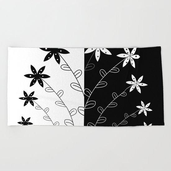 BLACK B Beach Towel