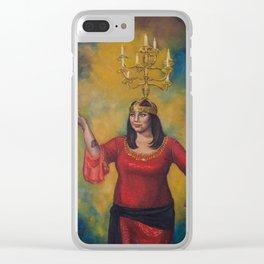 Sarab with Shamadan Clear iPhone Case