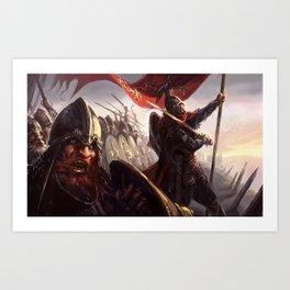 Shieldwall Art Print