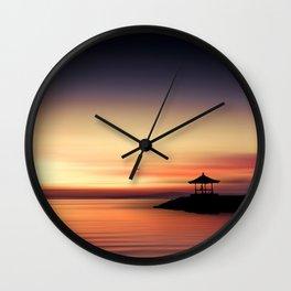 the silent sea Wall Clock