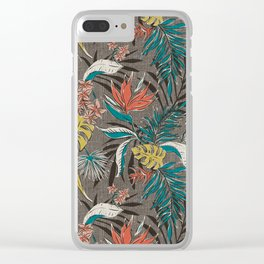 Bali Tropics - Cabana Clear iPhone Case