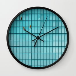 Glass Cleaners Wall Clock