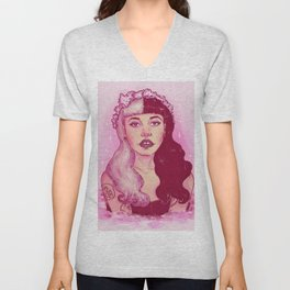 strawberry milk tears Unisex V-Neck