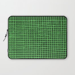 Left - Green Laptop Sleeve