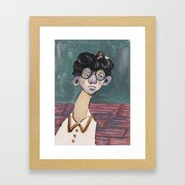 Boy I Framed Art Print