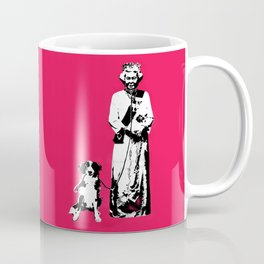 Dog Enslaved the Queen Coffee Mug